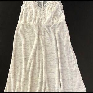 Anthropologie Intimates & Sleepwear - Anthropologie BORDEAUX Gray Cami Dress Chemise SzS
